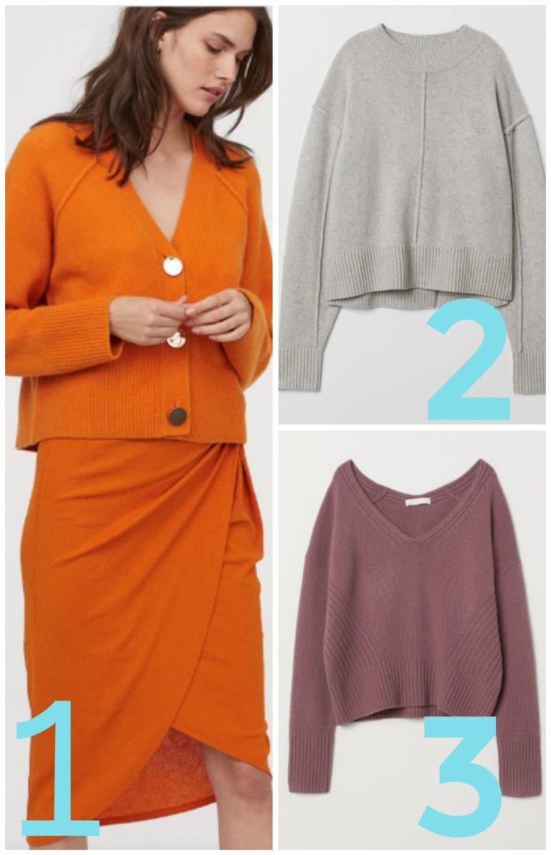 wełniane swetry - propozycje HM.com